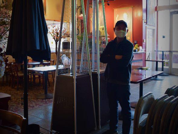 Restaurant owner Linh Nguyen