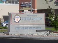 Little Saigon median sign