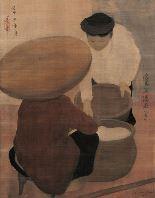 "Nguyen Phan Chanh's ""La Marchand de Riz"""