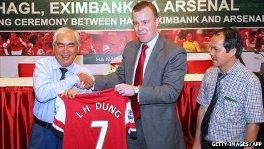 Arsenal marketing