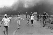 Kim Phuc and other children running from Napalm