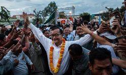 Anti-Vietnamese Sam Rainsy