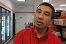Vince Tran connects with his customers