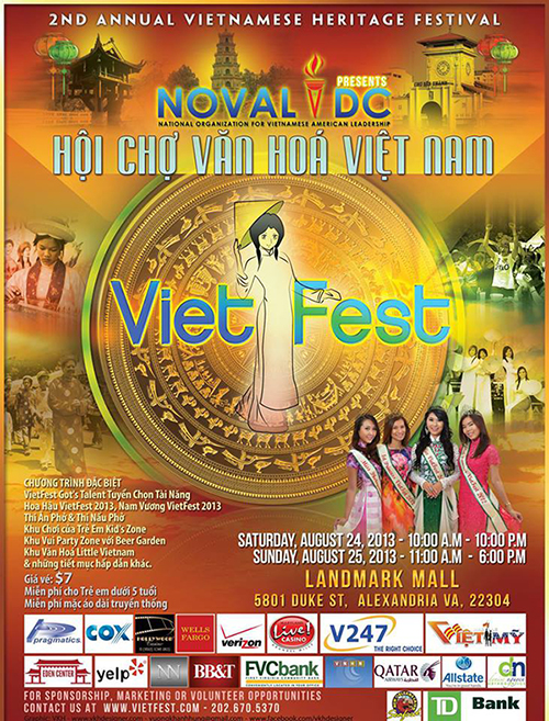 NOVAL's Viet Fest, scheduled for August 24-25.