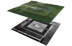 Lidar mapping of Angkor Wat