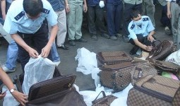 Police searching for illegal Chinese products