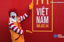 McDonald's opens in Vietnam