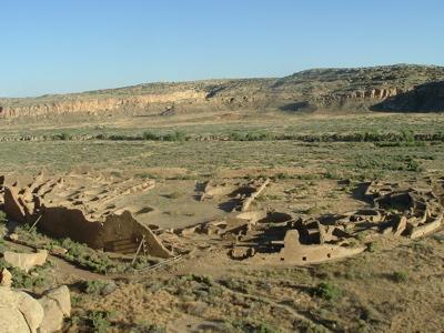 Pueblo Bonito at Chaco Canyon