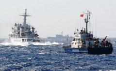 Chinese ships block Vietnamese ship