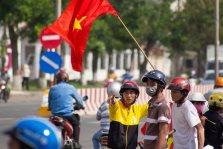Anti-China protestors
