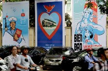 Vietnamese nationalistic posters