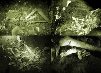 Skeletons in Cac Co Cave