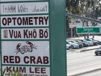 A street marker in Little Saigon