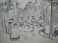 North Vietnamese troops