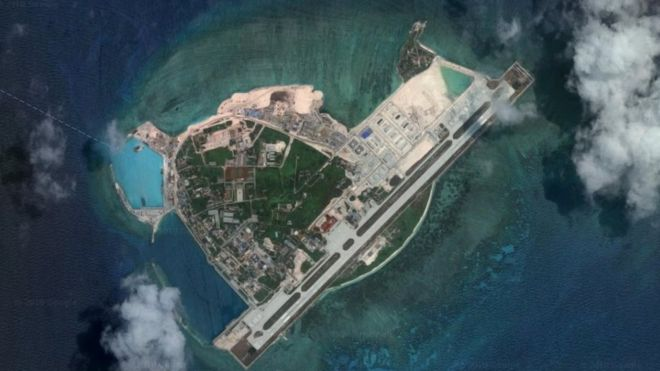 Chinese-invaded Woody Island