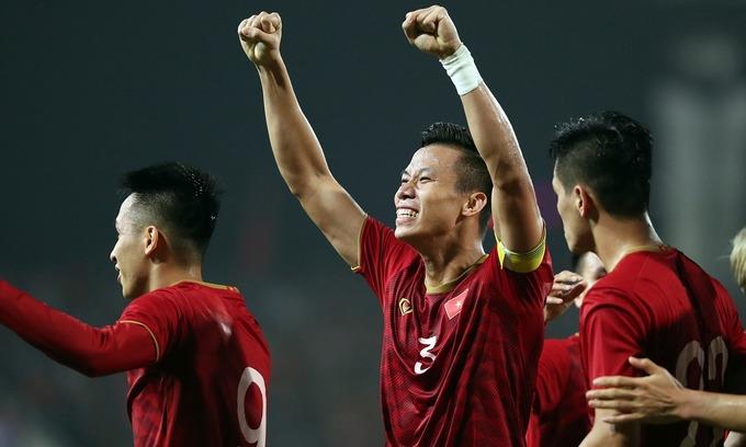 Vietnamese soccer players