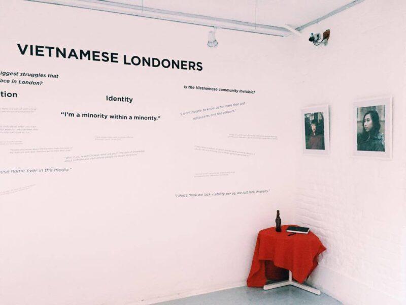 """Vietnamese Londoners"" exhibit"