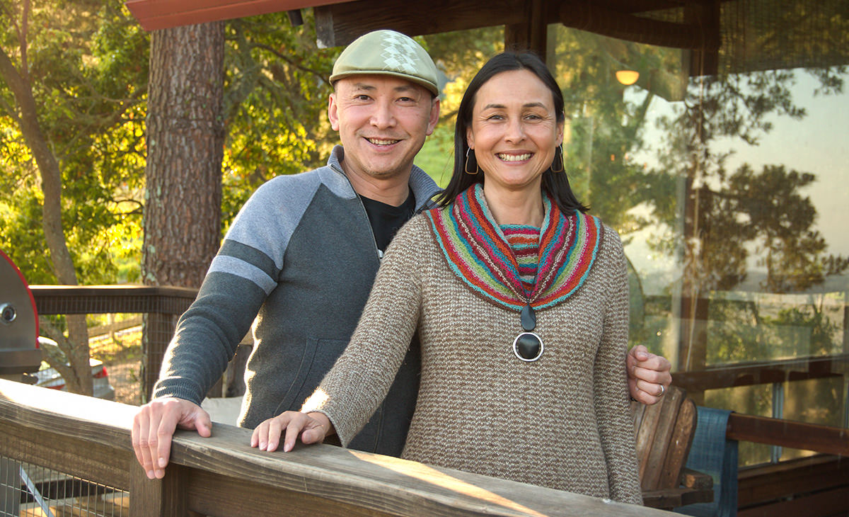 DVAN founders Viet Thanh Nguyen and Isabelle Pelaud
