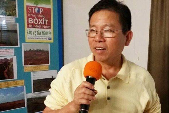 Pro-democracy activist Van Kham Chau