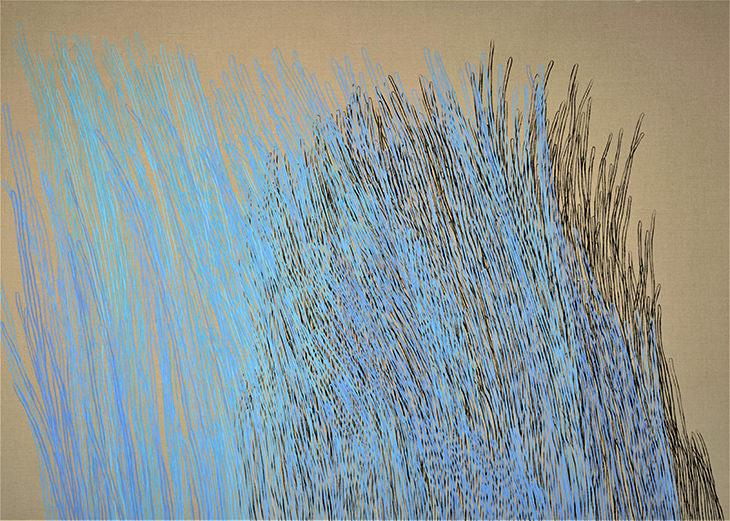 Splashes art by Trang T Le